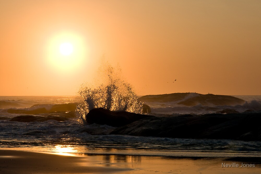 Sunset, Camps Bay, South Africa by Neville Jones