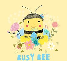 Busy Bee by Judith Loske