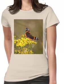 Red Admiral Womens Fitted T-Shirt