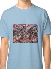 Textured Cork Tree Abstract Classic T-Shirt