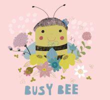 Busy Bee One Piece - Long Sleeve