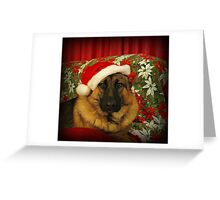 Santa Chance Greeting Card