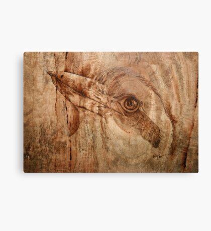 Proud Kookaburra Canvas Print