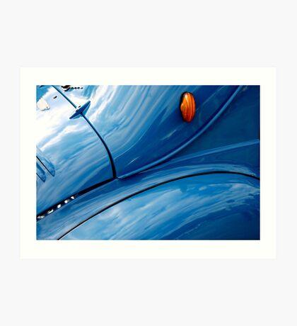 Renault 4cv Art Print