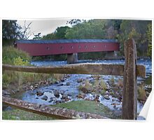 Cornwall Covered Bridge Poster