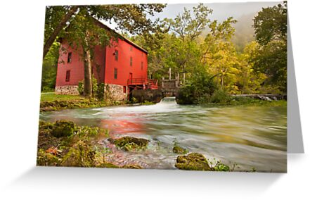 Alley Spring Mill by Gregory Ballos | gregoryballosphoto.com