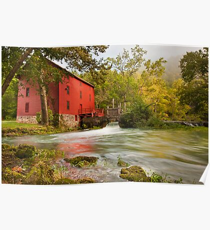 Alley Spring Mill Poster