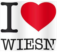 I ♥ WIESN Poster