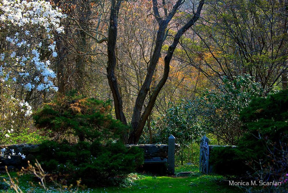 Enchanted Garden Gate by Monica M. Scanlan