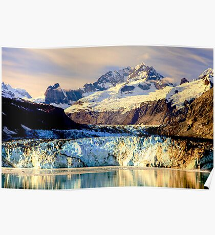 Johns Hopkins Glacier Poster