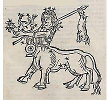 Hic Codex Auienii Continent Epigrama Astronomy Rufius Festivus Avenius 1488 Astronomy Illustrations 0185 Constellations Photographic Print