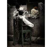 The Barber Photographic Print