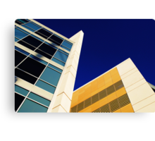 Highrise with Blue Sky Canvas Print