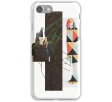 Geometry and nature iPhone Case/Skin