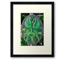 Greenman Framed Print