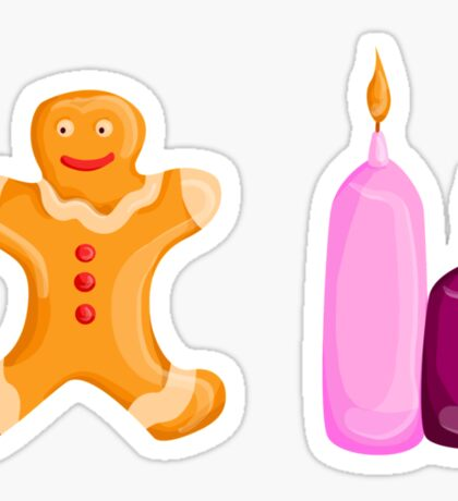 Christmas icons Sticker