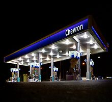 Chevron on the Rise Again by motelgeorge