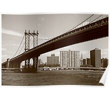 Manhattan Bridge - New York City Poster