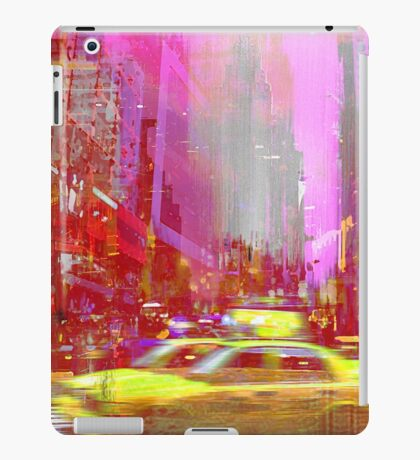 MOVING TO NEW YORK iPad Case/Skin