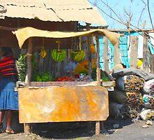 Fruit Market in Nairobi, KENYA by Atanas Bozhikov Nasko