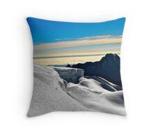 Huayna Potosi-Bolivia Throw Pillow