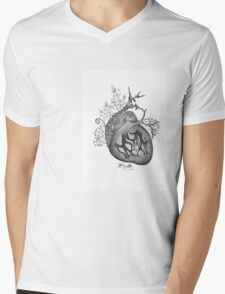 there's an empty space inside my heart where the weeds take root Mens V-Neck T-Shirt