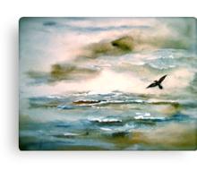 Nova Scotia...Where the Sea Meets the Sky.. Canvas Print