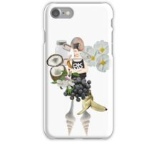 DKNY with flowers iPhone Case/Skin