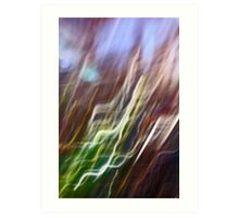 holly leaf abstract Art Print