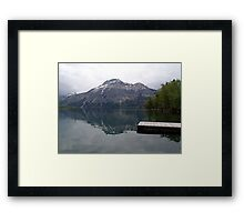Still Waters, Linnet Lake Framed Print