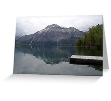 Still Waters, Linnet Lake Greeting Card