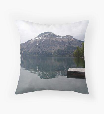 Still Waters, Linnet Lake Throw Pillow