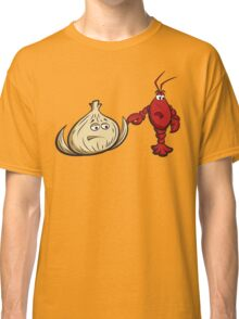 Lobster And Onions Classic T-Shirt