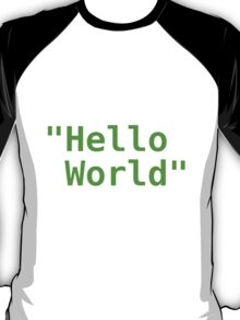 Hello world ! T-Shirt