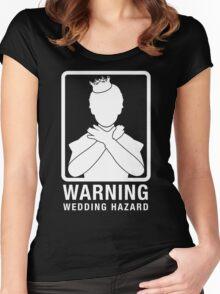 Warning: Wedding Hazard Women's Fitted Scoop T-Shirt