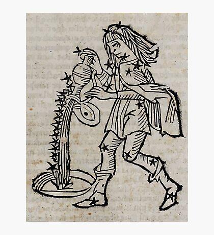 Hic Codex Auienii Continent Epigrama Astronomy Rufius Festivus Avenius 1488 Astronomy Illustrations 0165 Constellations Photographic Print