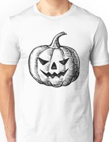 Vintage Hand Drawn Halloween Unisex T-Shirt