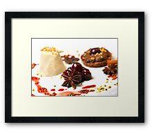 Advent Dessert Framed Print