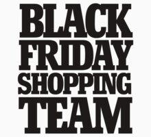 Black friday shopping team Kids Tee