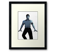 You think you're tough, huh? Framed Print