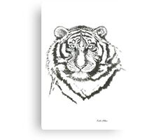 Portrait of a Predator Canvas Print