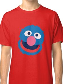 Grover head geek funny nerd Classic T-Shirt