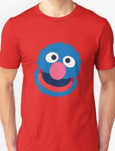 Grover head geek funny nerd T-Shirt