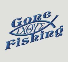 Gone Fishing  by David and La Jeana Bodo