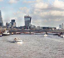 London Blackfriars Bridge by timkouroff