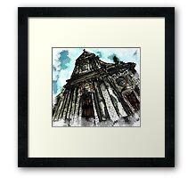 Saint George Church in Locorotondo (Italy) Framed Print