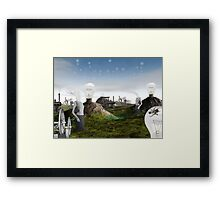 Consuming technologies mindlessly (II) Framed Print