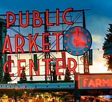 Pike Place Holidays by Inge Johnsson