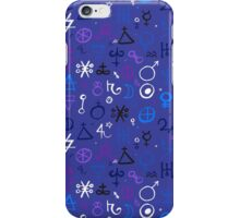 Witchcraft mystic signs iPhone Case/Skin