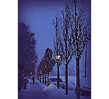 Snowing Photographic Print